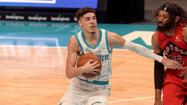 LaMelo Ball dazzles as a passer in preseason opener with Hornets despite shooting struggles