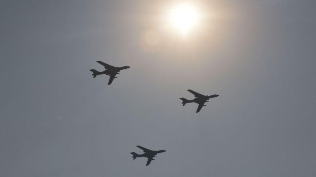 China flies at least 20 war planes in Taiwan airspace