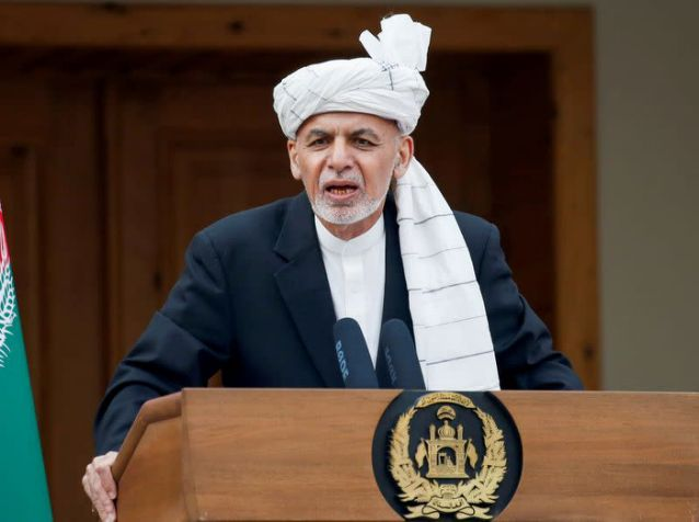 Afghan president promises to step aside if election is held