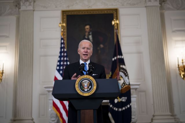 Biden Got the Vaccine Rollout Humming, With Trump's Help