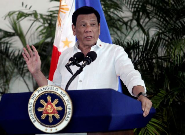 Philippines' Duterte cancels address due to COVID-19 among staff