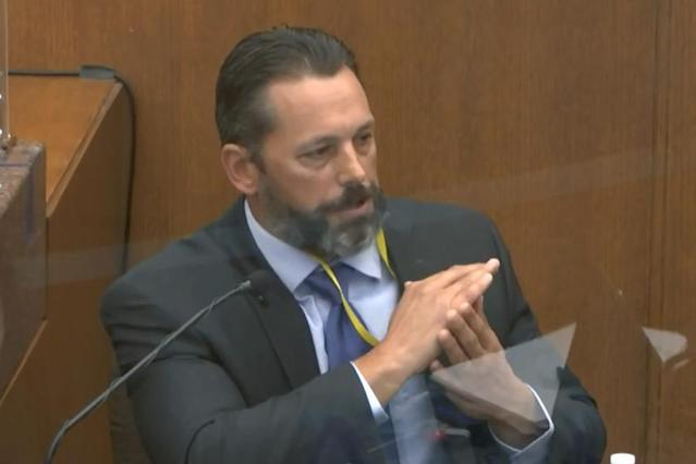 Training officer testifies Chauvin was taught to avoid putting pressure on a suspect's neck