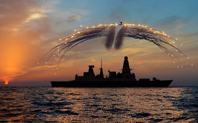 Navy fires back at Moscow's claims that it chased HMS Dragon out of Russian waters