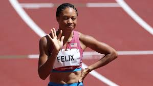Allyson Felix advances to the 400m semifinals in 50.84